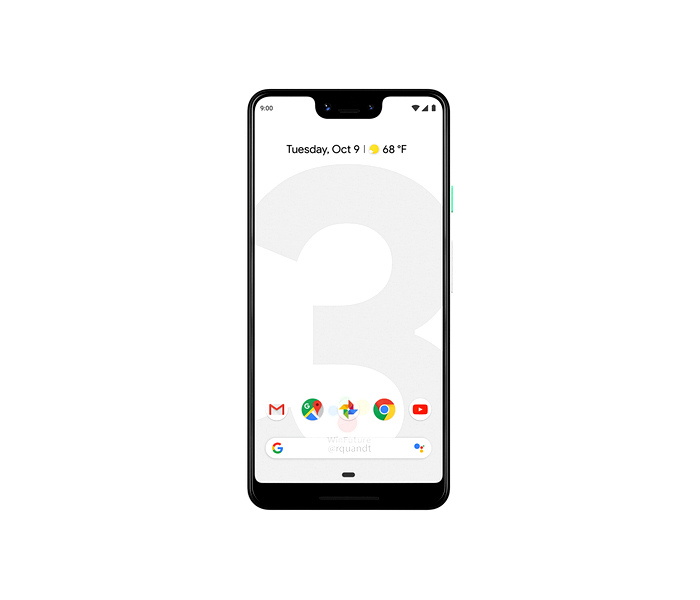 google pixel 3 xl mobile phone